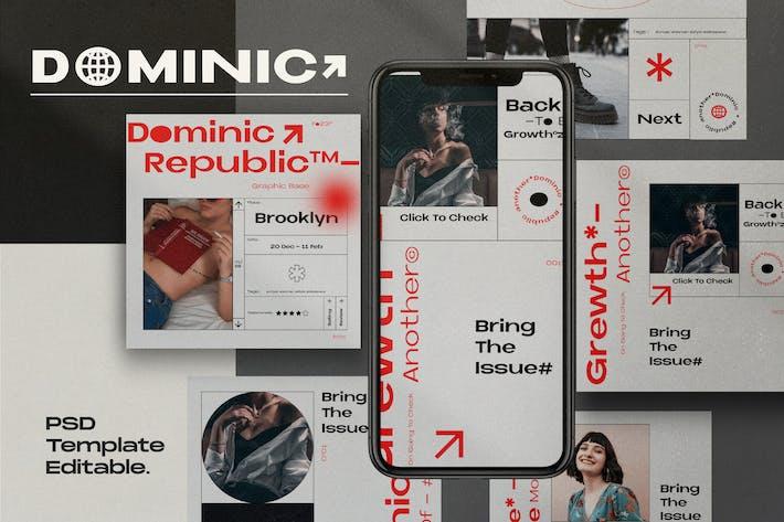 Thumbnail for Dominic - Social Media Instagram + Story