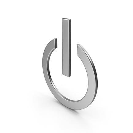 Símbolo de botón de encendido