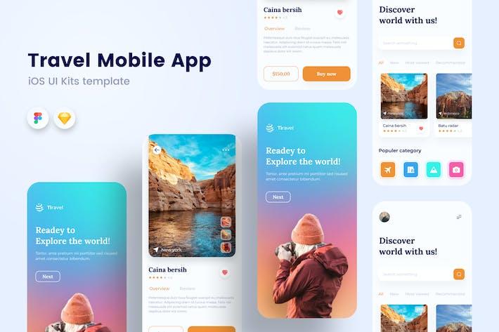 Travel Mobile App Sanstemp