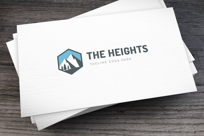 Thumbnail for The Heights Logo Template