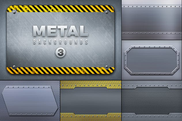 Metal Backgrounds Col3