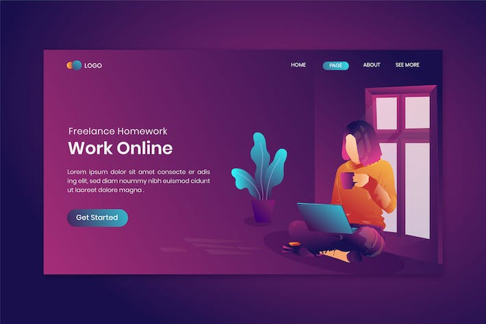 Freelance Homework On Landing Page