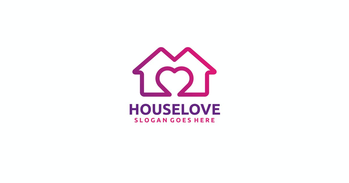Download House Love Logo by 3ab2ou