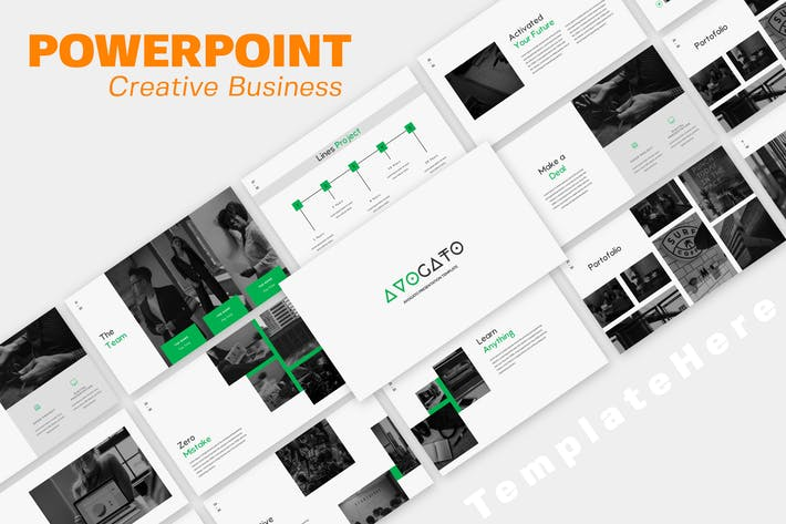 Thumbnail for Avogato Business Powerpoint