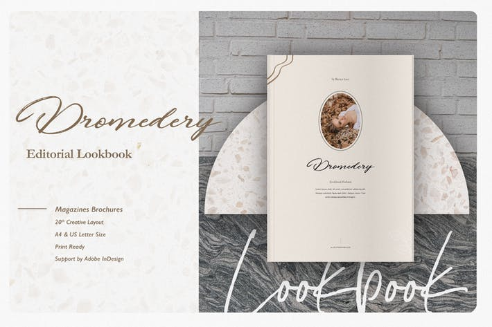 Thumbnail for Dromedery Editorial Lookbook