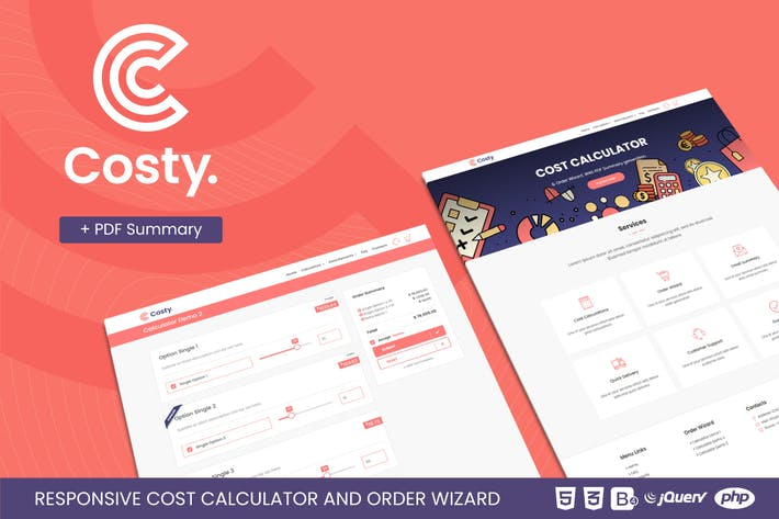 Costy   Cost Calculator and Order Wizard