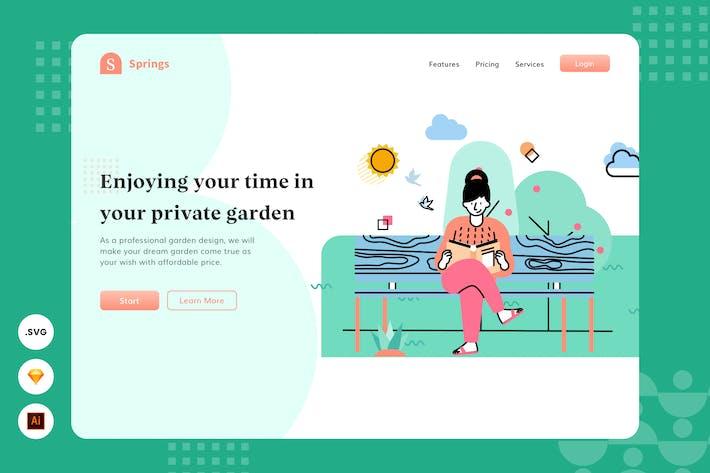Thumbnail for En-tête du site Web - Illustration