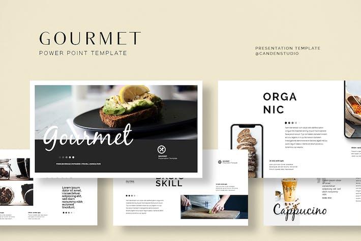 HQ - Gourmet Presentation Templates