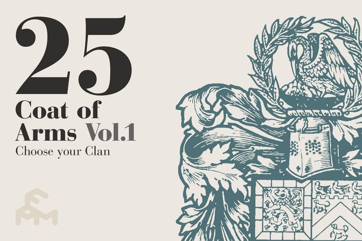 Thumbnail for 25 Coat Of Arms - Vol.1