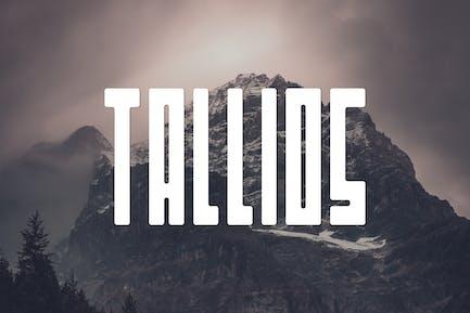 Tallios Font