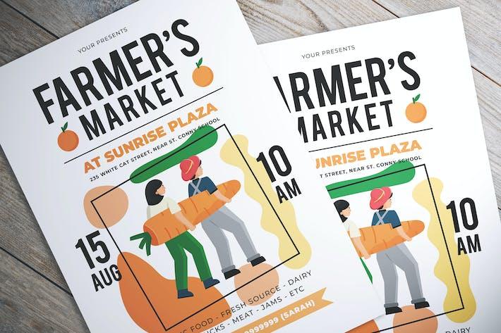Thumbnail for Farmer Market Day Flyer