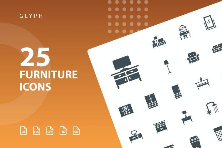 Thumbnail for Furniture Glyph Part 2