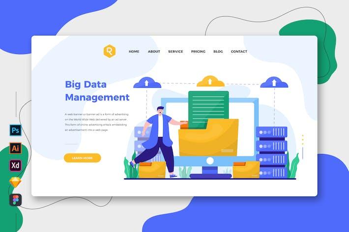 Thumbnail for Big Data Management - Web & Mobile Landing Page