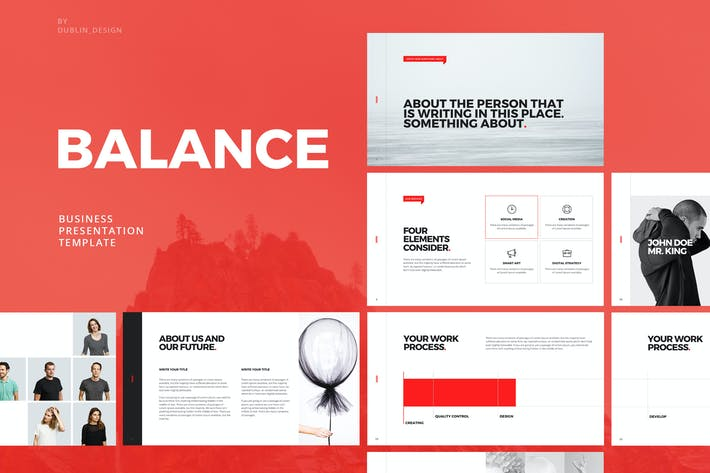 Thumbnail for Balance - Powerpoint Template