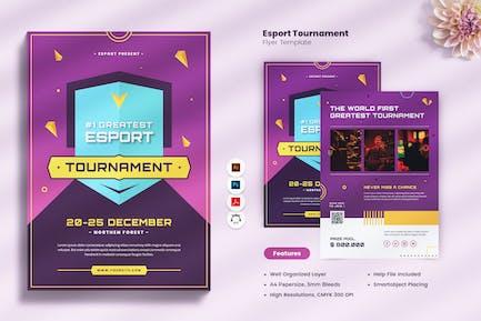 E-Sport Tournament Flyer