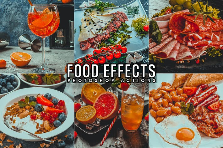 Thumbnail for 9 Food Blogger Photoshop Actions