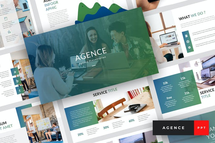 Thumbnail for Agence - Agency PowerPoint Template