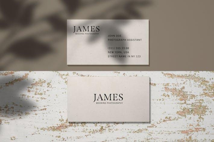 Thumbnail for Business Card Branding Mockup