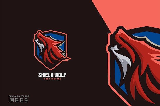 Fox Shield Logo Templates