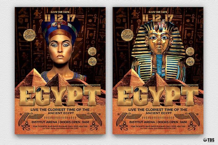 Thumbnail for Шаблон Флаер событий Древнего Египта