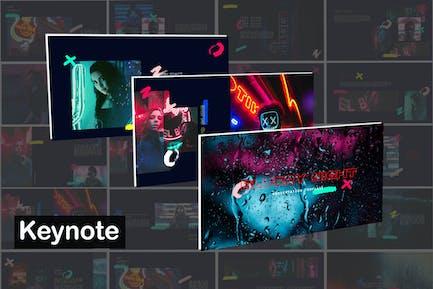 Blurry Night Innovative - Unique Keynote