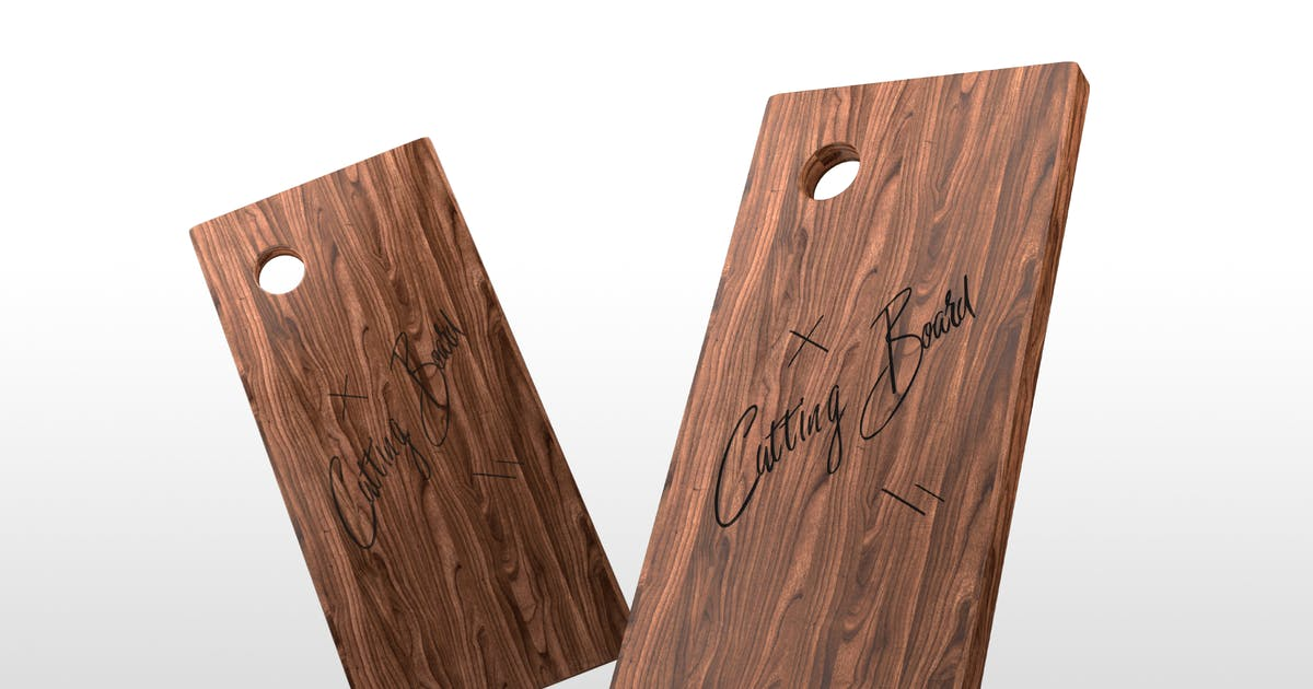 Download Wooden Cutting Board Mockups by Stockware