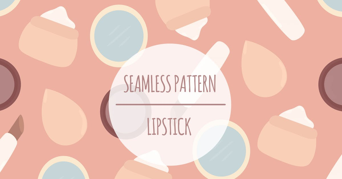 Download Lipstick – Seamless Pattern by designesto