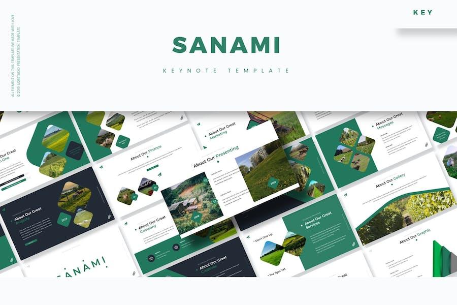 Sanami - Keynote Template