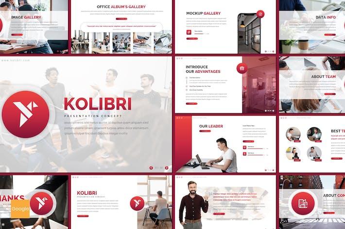 Thumbnail for Kolibri - Business Google Slides Template