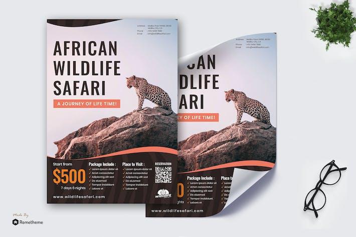 Thumbnail for Wildlife Safari - Poster RB