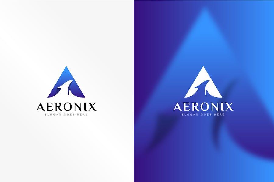 Aeronix Letter A Logo