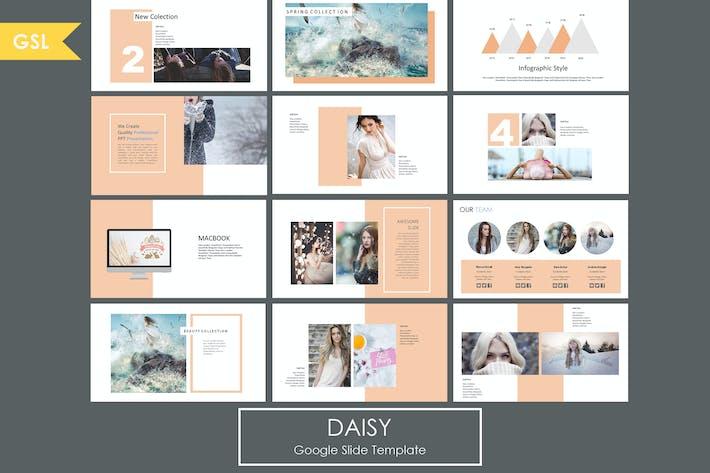 Thumbnail for Daisy - Google Slide Template