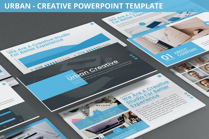 Thumbnail for Urban - Creative Agency Powerpoint Template
