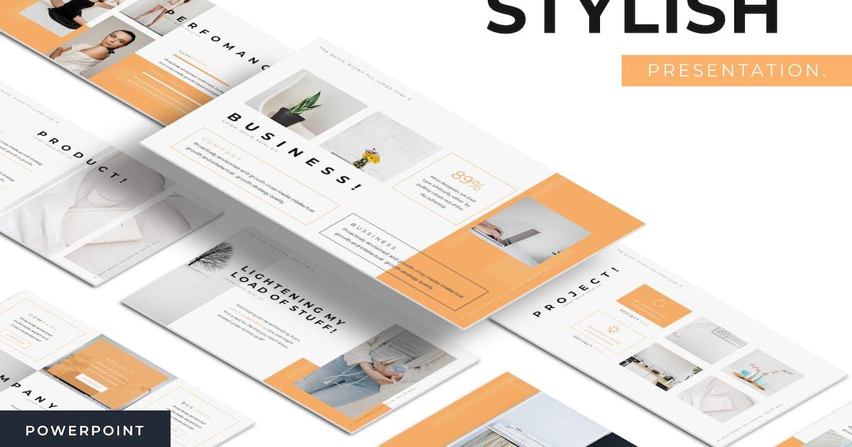 Download Stylish - Powerpoint Template by karkunstudio