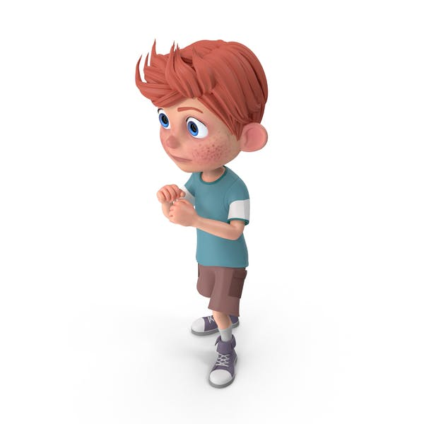 Cover Image for Cartoon Boy Charlie Guarding