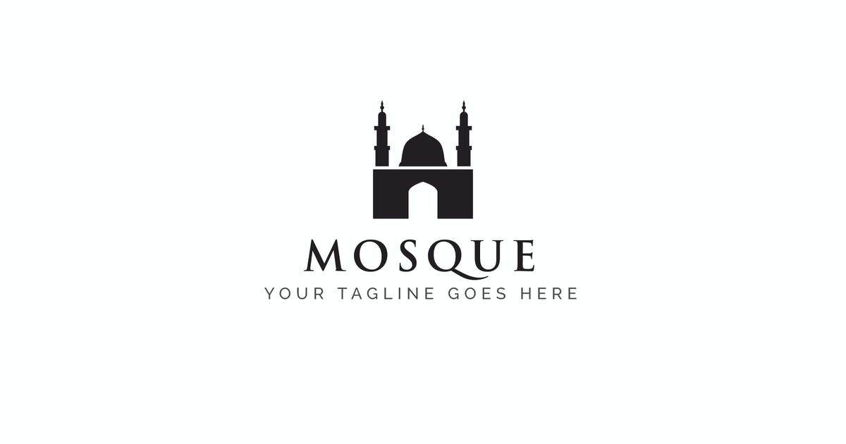 Download Mosque - Islamic Logo Template by ThemeWisdom