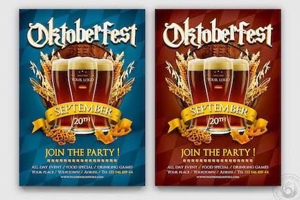Oktoberfest Flyer Template V1