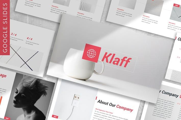 Thumbnail for Klaff - Business Google Slide Template