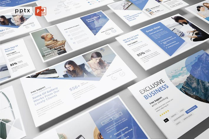 Thumbnail for EXKLUSIVE BUSINESS - Powerpoint V329