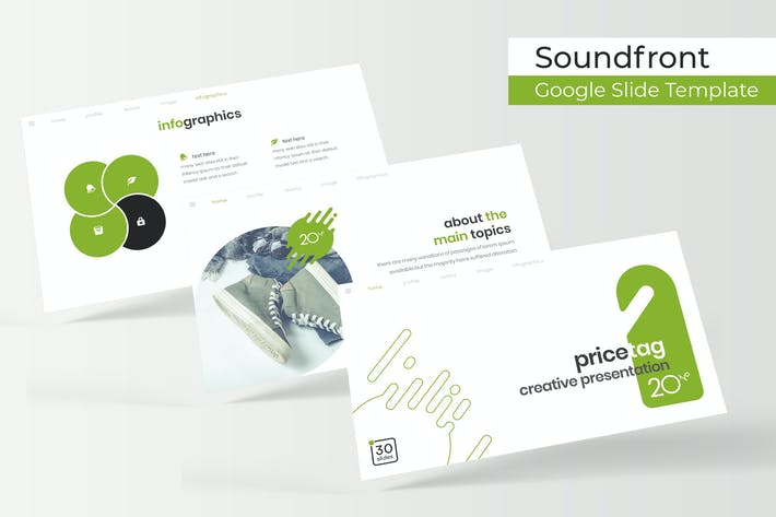 Thumbnail for Pricetag - Plantilla de Diapositivas de Google