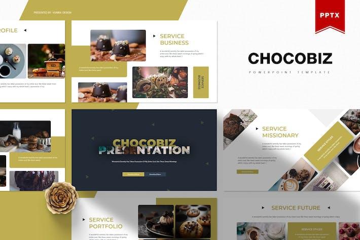 Thumbnail for Chocobiz | Шаблон Powerpoint