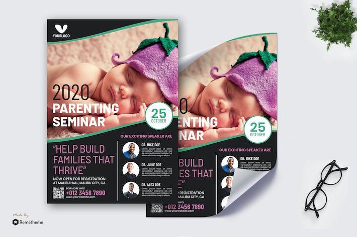 Thumbnail for Parenting Seminar - Poster RB