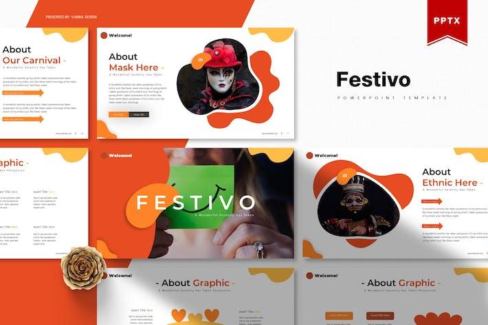 Thumbnail for Festivo | Powerpoint Template