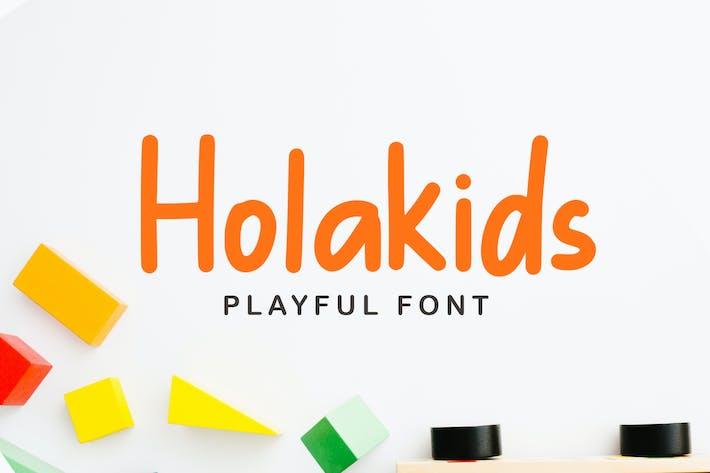 Holakids - Playful Font