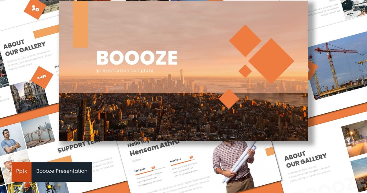 Download Boooze - Powerpoint Template by inspirasign