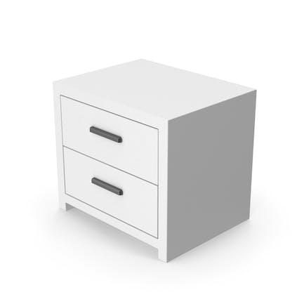 White Bedroom Cabinet