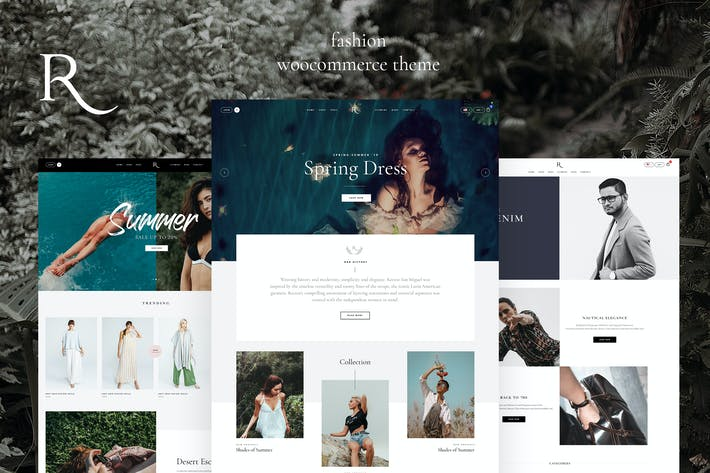 Thumbnail for Rion - Mode WordPress Thema für WooCommerce