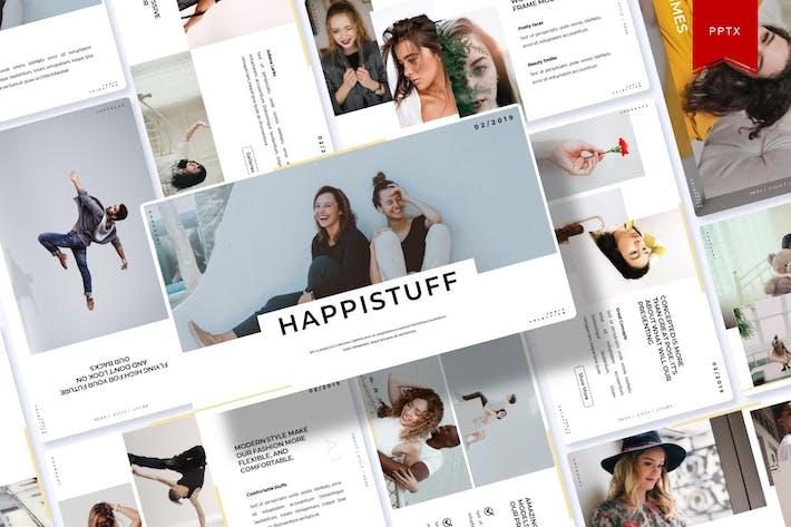 Thumbnail for Happistuff | Шаблон Powerpoint