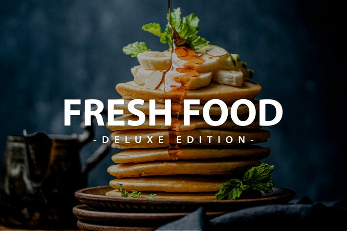 Thumbnail for Fresh Food Deluxe Edition | For Mobile and Desktop