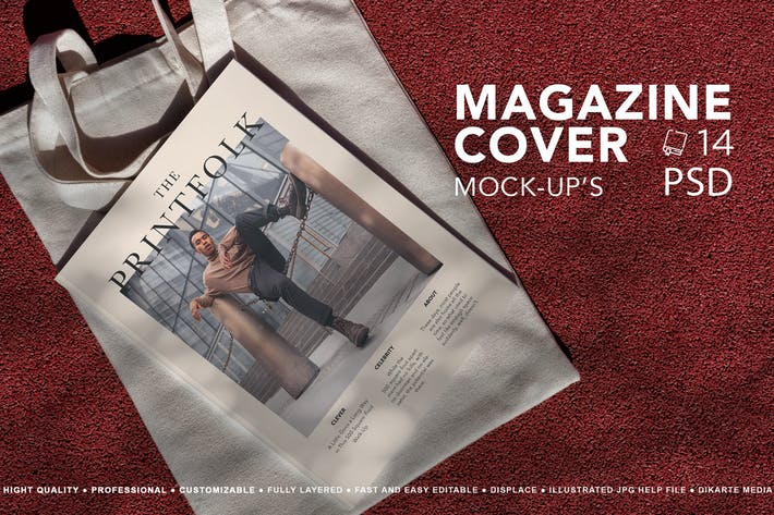 Thumbnail for Magazin-Cover Mock-Up